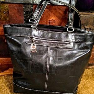 Nine West vegan black purse